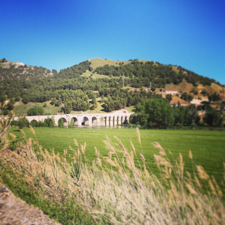 Puente romano de Cabezón del Pisuerga (Etapas en bici)