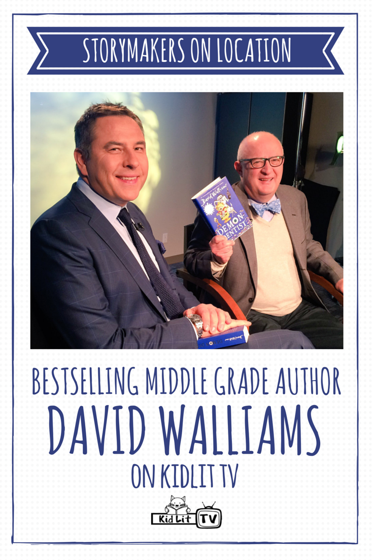 Reviews children s book review demon dentist david walliams - Kidlit Tv Storymakers On Location With Author David Walliams Sharing About The Book Demon Dentist