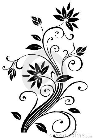 Image detail for -Floral Border Royalty Free Stock Image – I…
