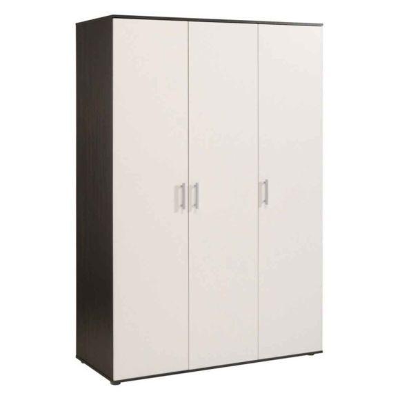 Armoire Soldes Soldes Paris Prix Armoire 3 Portes Akka 177cm Blanc Caf Pas Tall Cabinet Storage Storage Home Decor