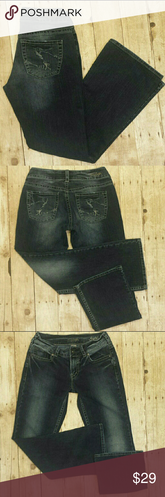 Silver Jeans Suki Stretch Bootcut Size 28 | Abbronzature, Jeans ...