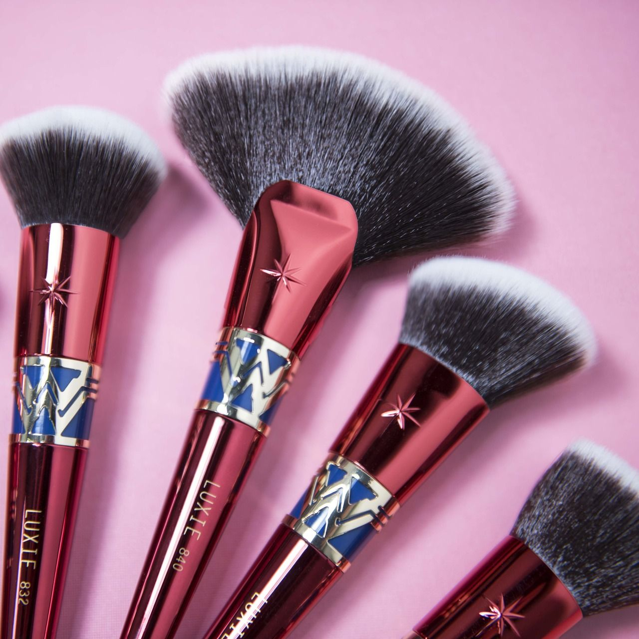 Wonder Woman makeup brush collection by Luxie Beauty