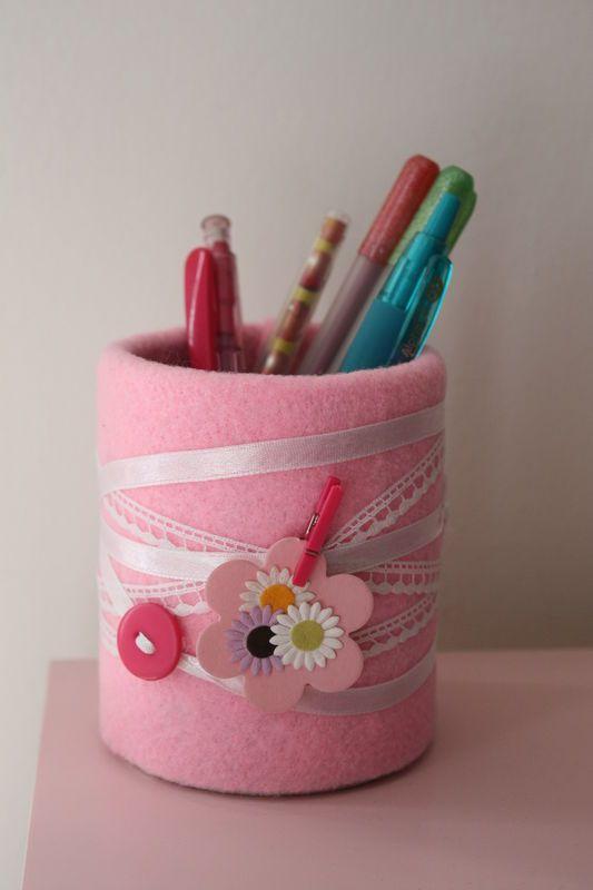 faire du neuf avec du vieux le pot crayons chez requia c t maison et jardin projets. Black Bedroom Furniture Sets. Home Design Ideas