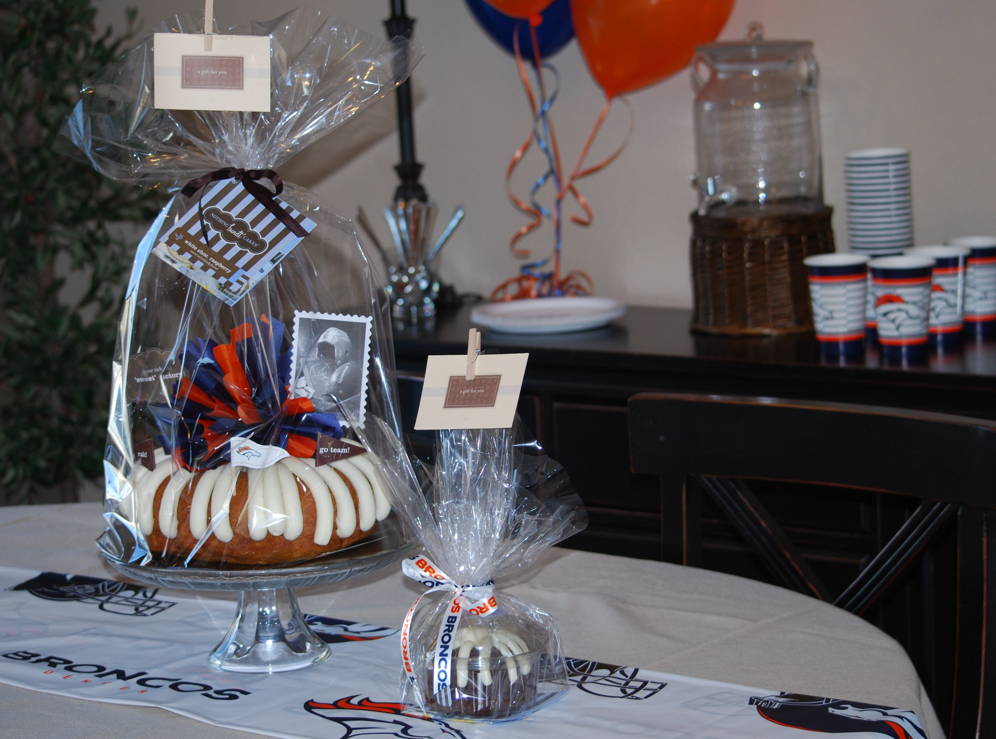 Get in the spirit with a broncos cake 3032487224