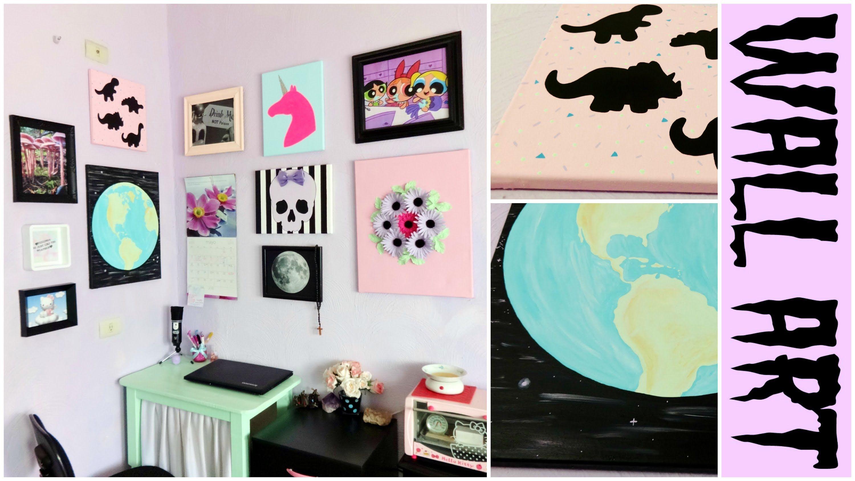 Diy Pastel Goth Tumblr Room Decor Pastel Room Decor Tumblr Room