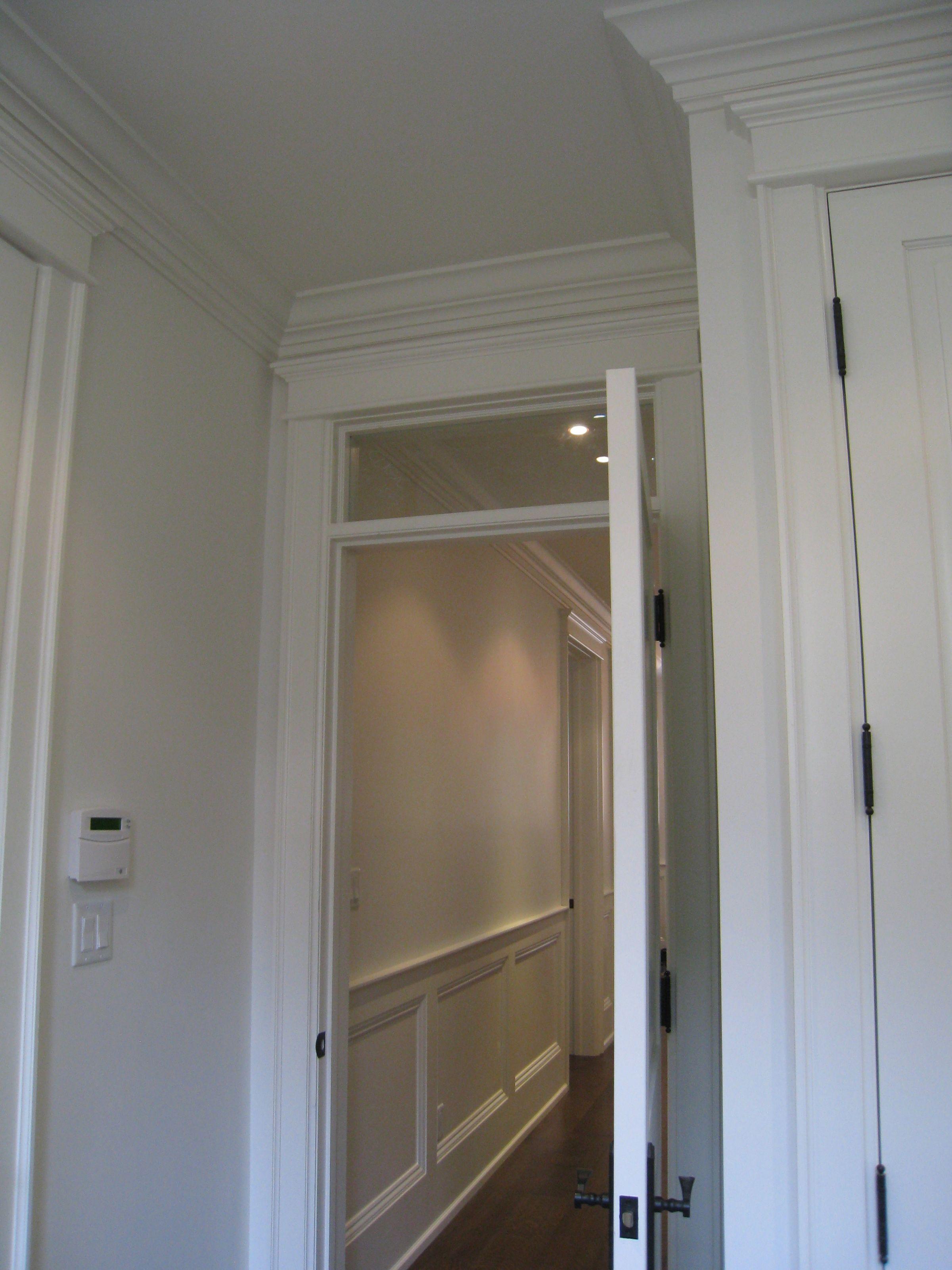 Transom Window Above Interior Door Interior Railings Interior