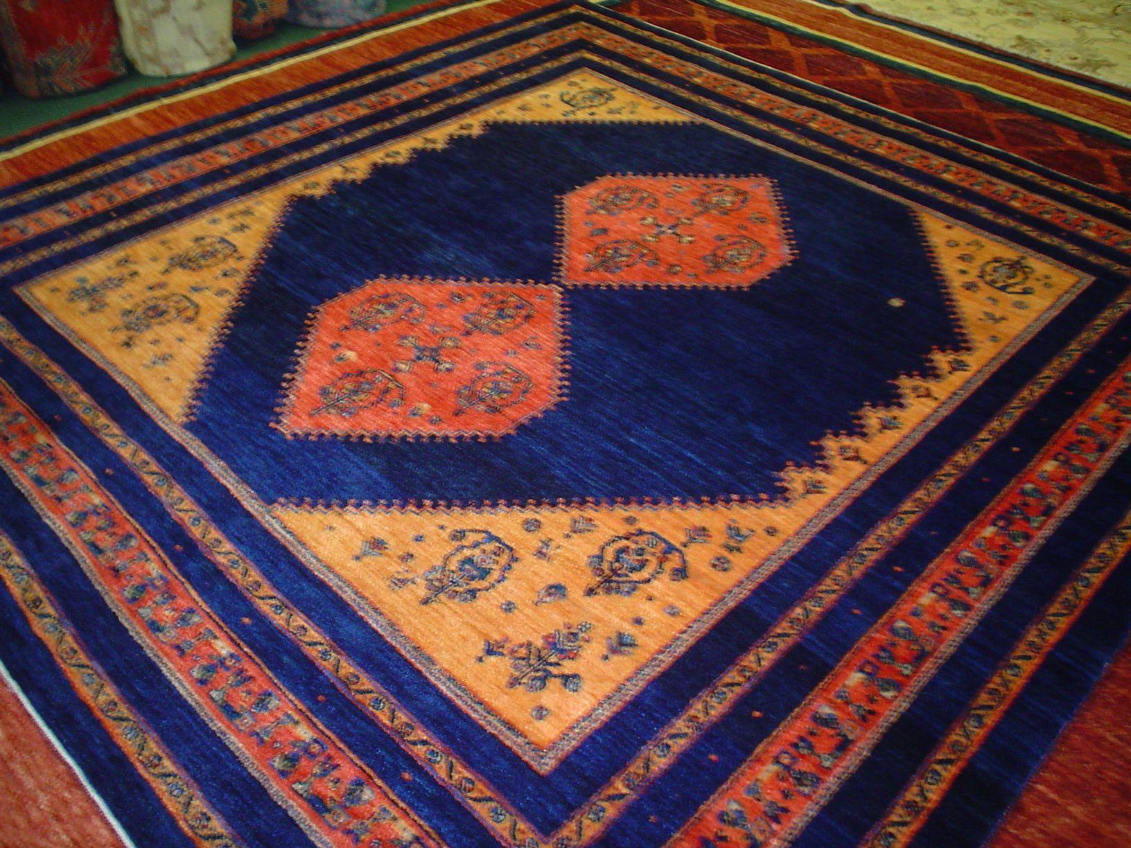Beautiful Persian Tribal Rug In Jewel Tones