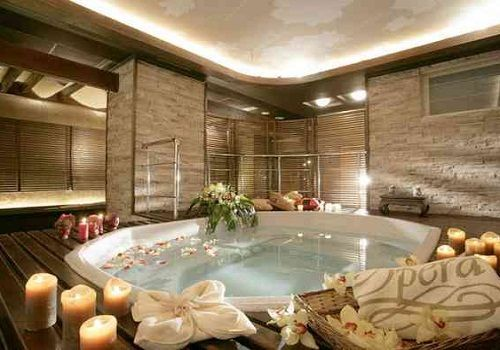 natural home spa ideas bath like decor bathroom bar decorating
