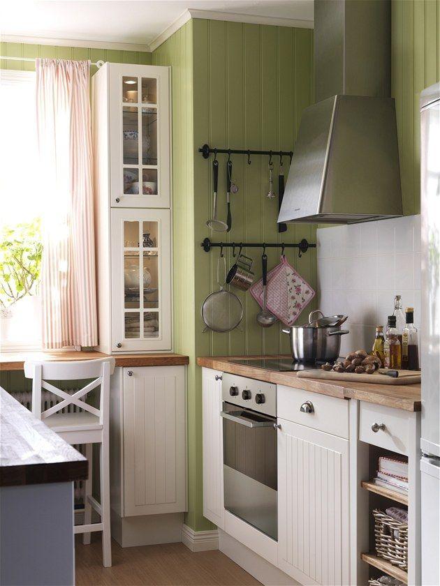 kuchyň ikea rustikální - Hledat Googlem | Küche und Esszimmer in ...