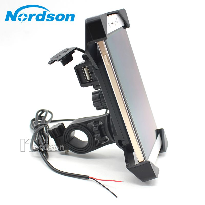 New Motorcycle Phone Holder With Usb Charger Mobile Phone Holder For