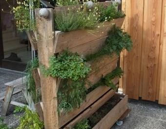 eingewachsen vertikales beet im garten sommer im garten pinterest vertikal g rten und. Black Bedroom Furniture Sets. Home Design Ideas