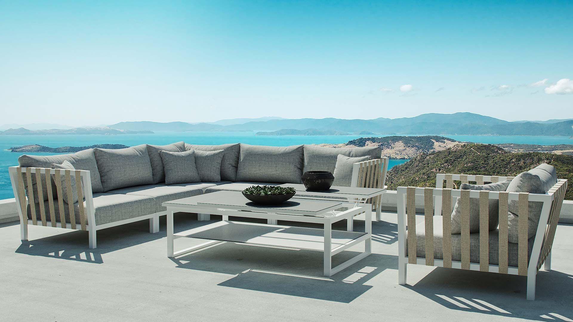 Atika En 2020 Salon De Jardin Aluminium Mobilier Jardin Section Exterieure
