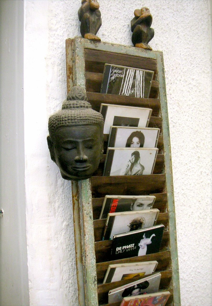 volet persienne d tourn en range cd barbatruc et recup. Black Bedroom Furniture Sets. Home Design Ideas
