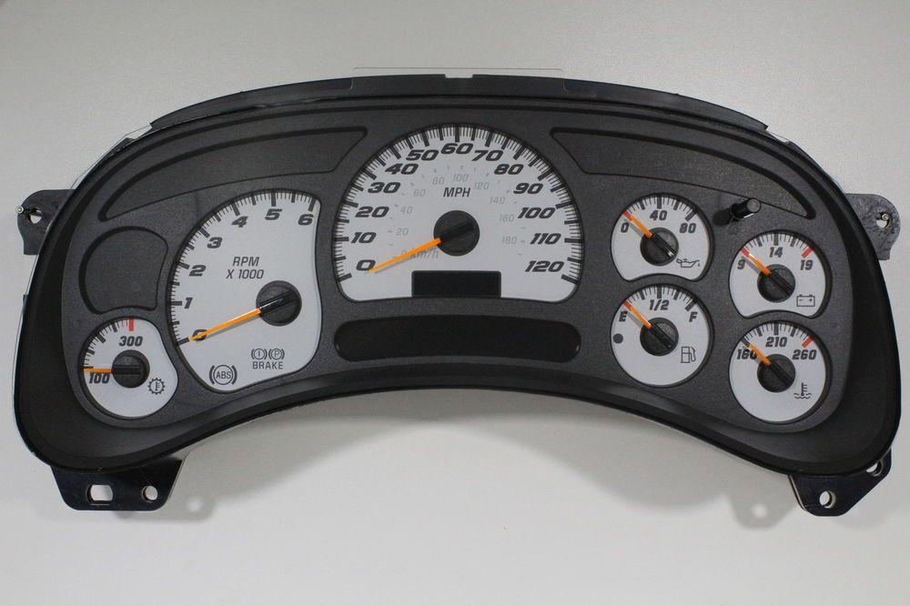 03-06 GM Duramax Diesel Silverado Sierra Gauge Cluster REPAIR SERVICE LED 04 05