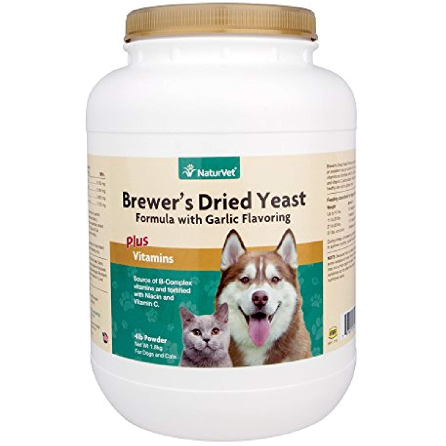 Naturvet Brewer S Yeast Formula Garlic Flavor 4lbs Read More Reviews Of The Product By Visiting The Link On The Brewers Yeast Vitamin C For Dogs Dry Yeast