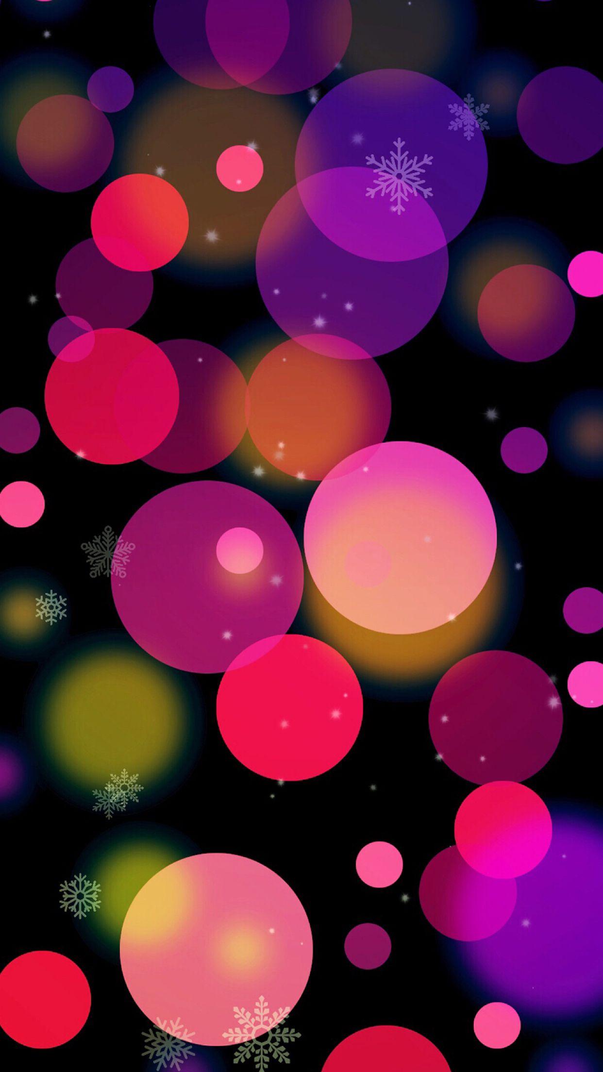 Snow And Bocah Bubbles Wallpaper Flower Iphone Wallpaper Hello Wallpaper