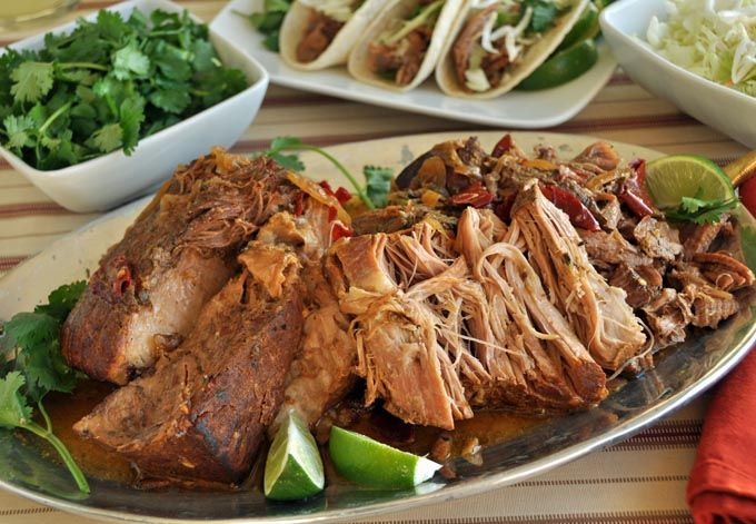 slow cooked cuban-style pork