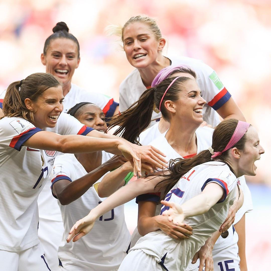 It Took All Of U S We Love You We Won The World Cup Uswnt 2019 Instagram Com Fifawomensworldcup2019 Uswnt Usa Soccer Women Fifa Women S World Cup