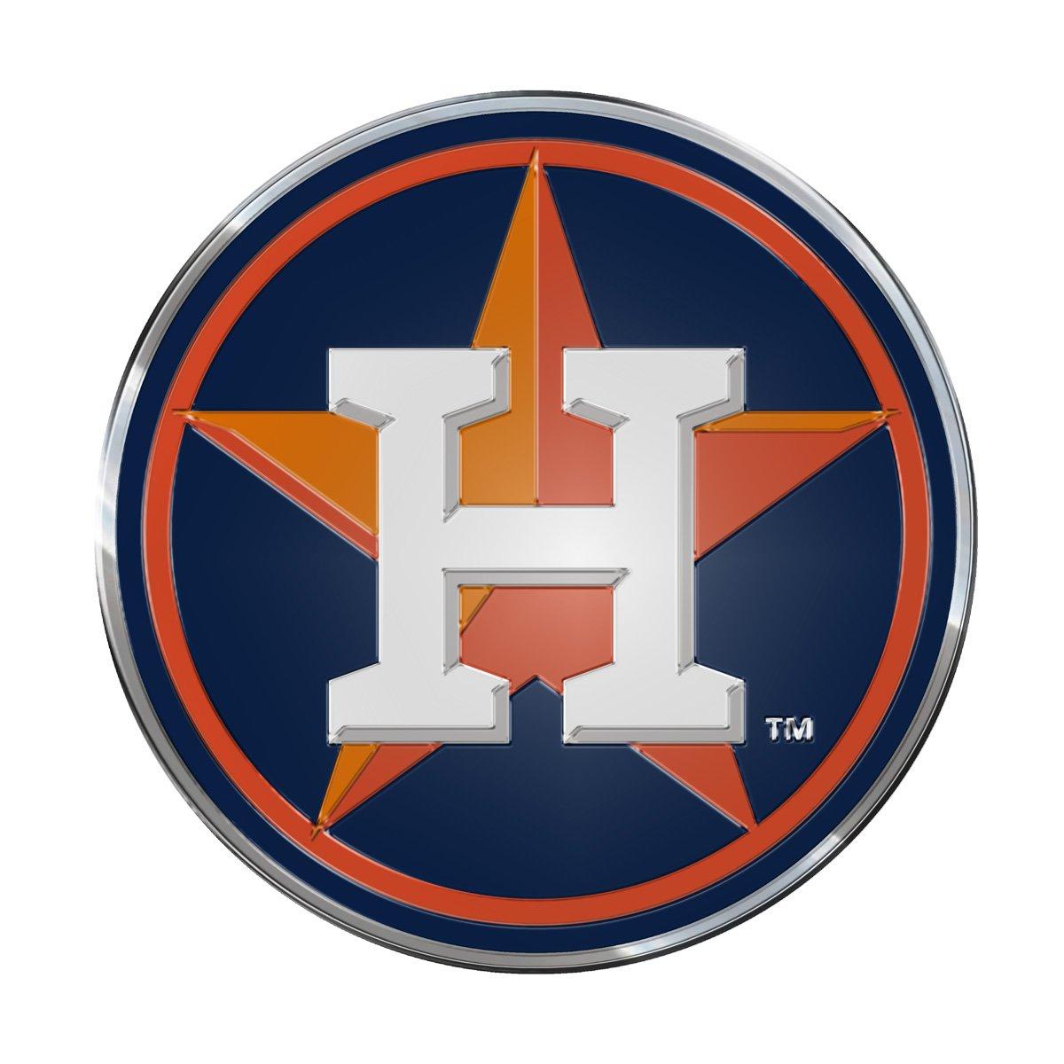 Houston Astros Mlb Aluminum Color Emblem In 2020 Logos Sports Logo Mlb