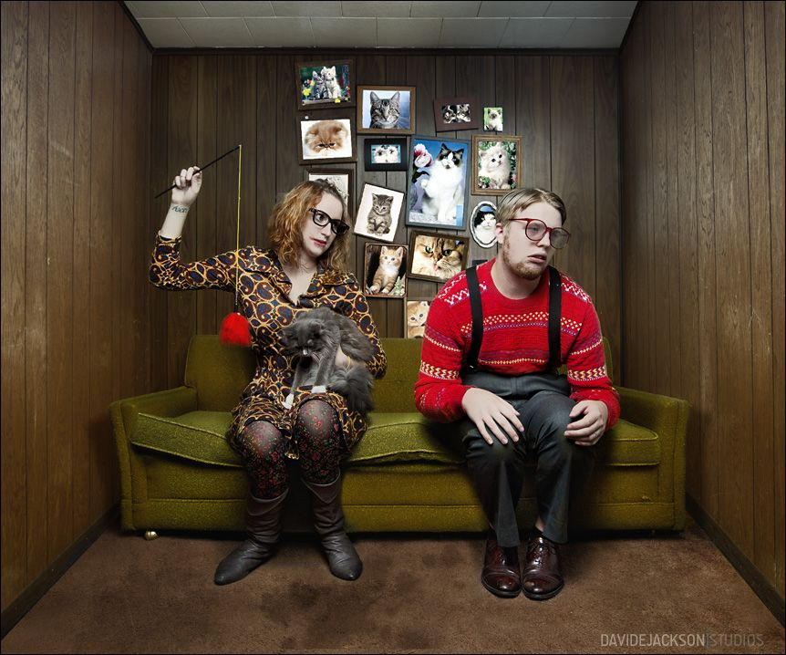 David E. Jackson :: Quirky (and awesome) engagement shoot
