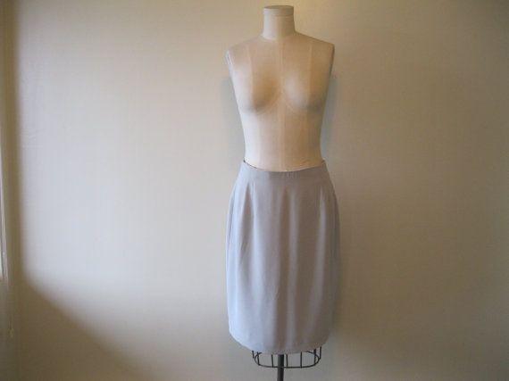 Powder Blue Skirt by jhgfashion on Etsy, $5.00