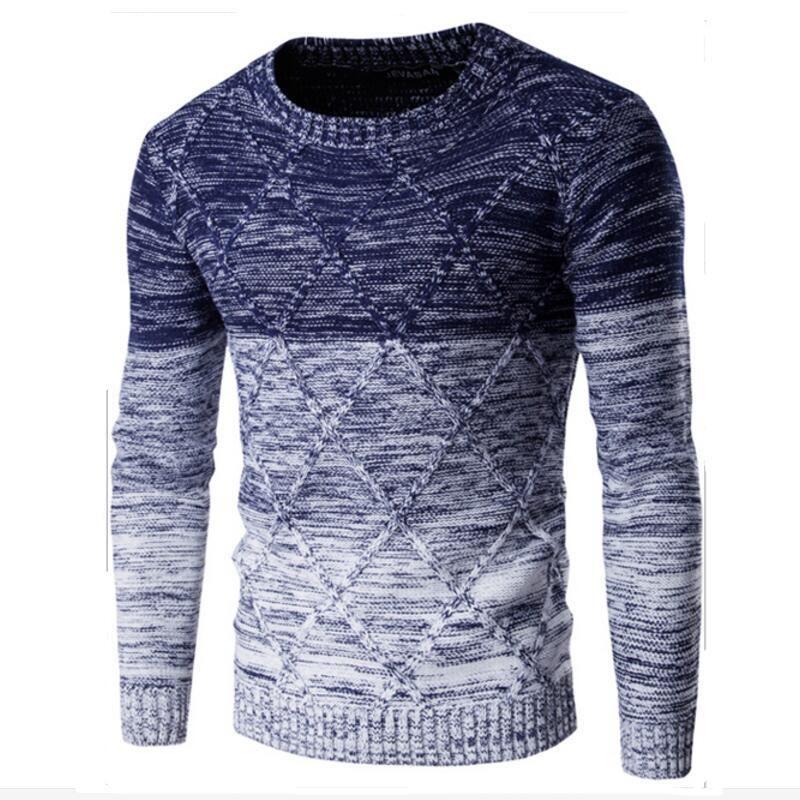 man Casual Sweater 2017 Men's Fashion Men Pullover Brand Winter Warm  Knitting Long Sleeve Knitwear Mens