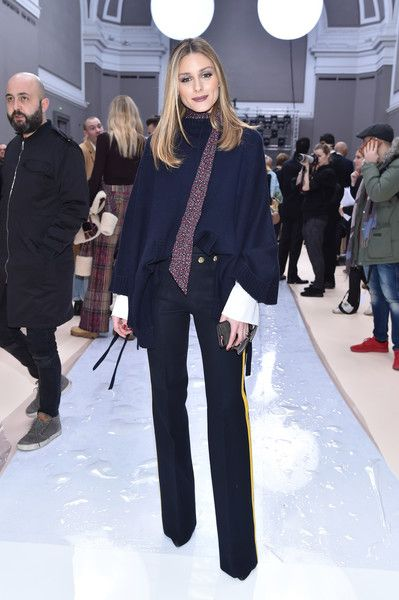 Olivia Palermo attends the Chloe show as part of the Paris Fashion Week Womenswear Fall/Winter 2017/2018 on March 2, 2017 in Paris, France.