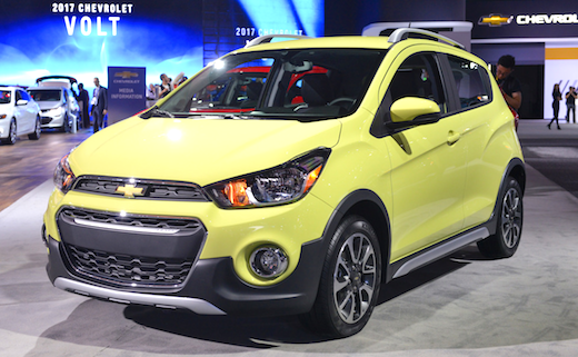2019 Chevrolet Spark Activ Price With sales crossovers