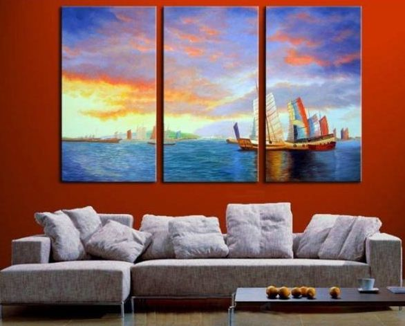 Delicieux Tips On Decorating Your Home Effectively With Oil Paintings #HomeDecor  #WallDecor #OilPaintings