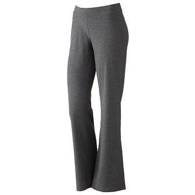 Tek Gear Fit & Flare Yoga Pants, Kohl's    - - favorite lounge pants!