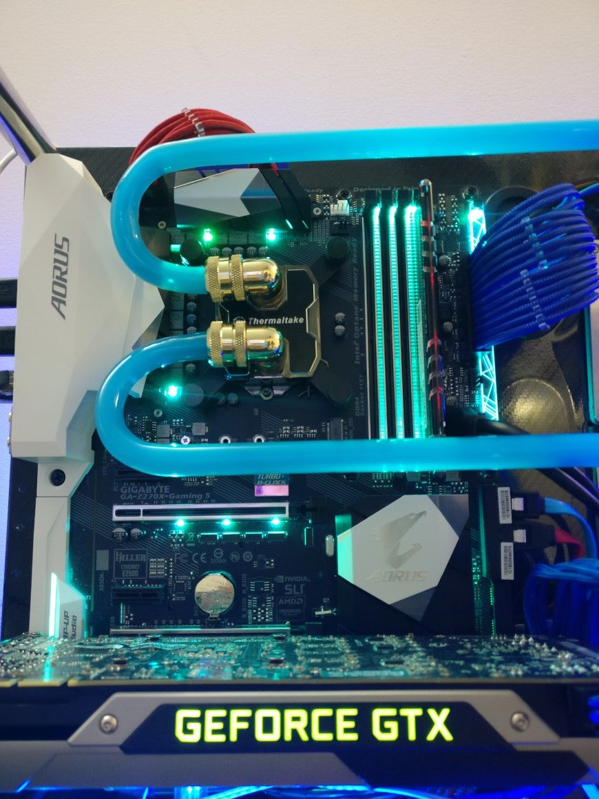Water Cooling System Water Cooling Cool Stuff Custom Pc