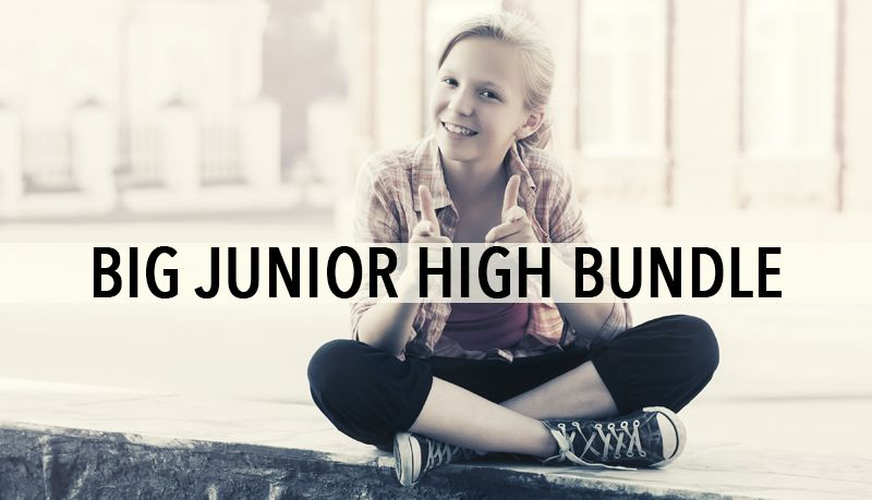 SAVE 75% ON $280 WORTH OF JUNIOR HIGH MINISTRY LESSONS FOR ...