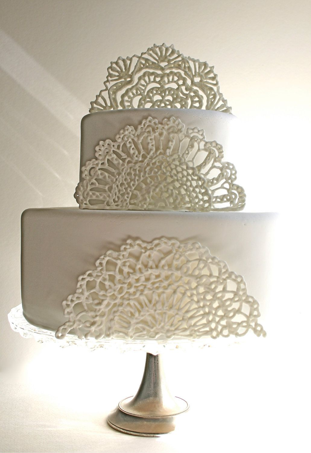 Pin by Electra Myers on The cake is a LIE! | Sugar lace ...