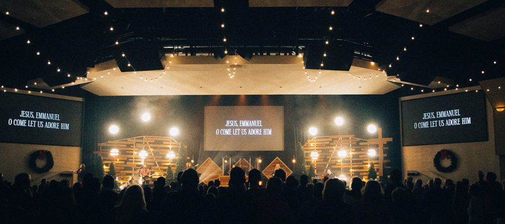 A Warm Hug | Church Stage Design Ideas