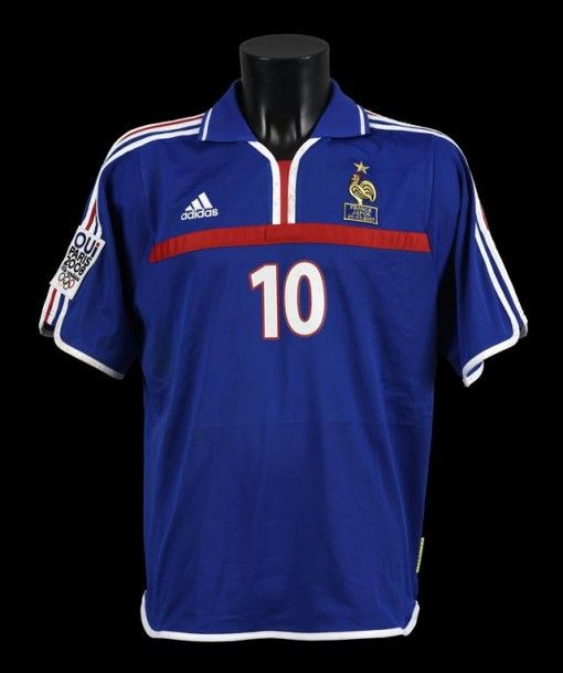 ... Away Shirt (Zidane 10) Zinedine ZIDANE n°10. Maillot porté avec léquipe  de France face au 2016-17 ... 913d54e5a