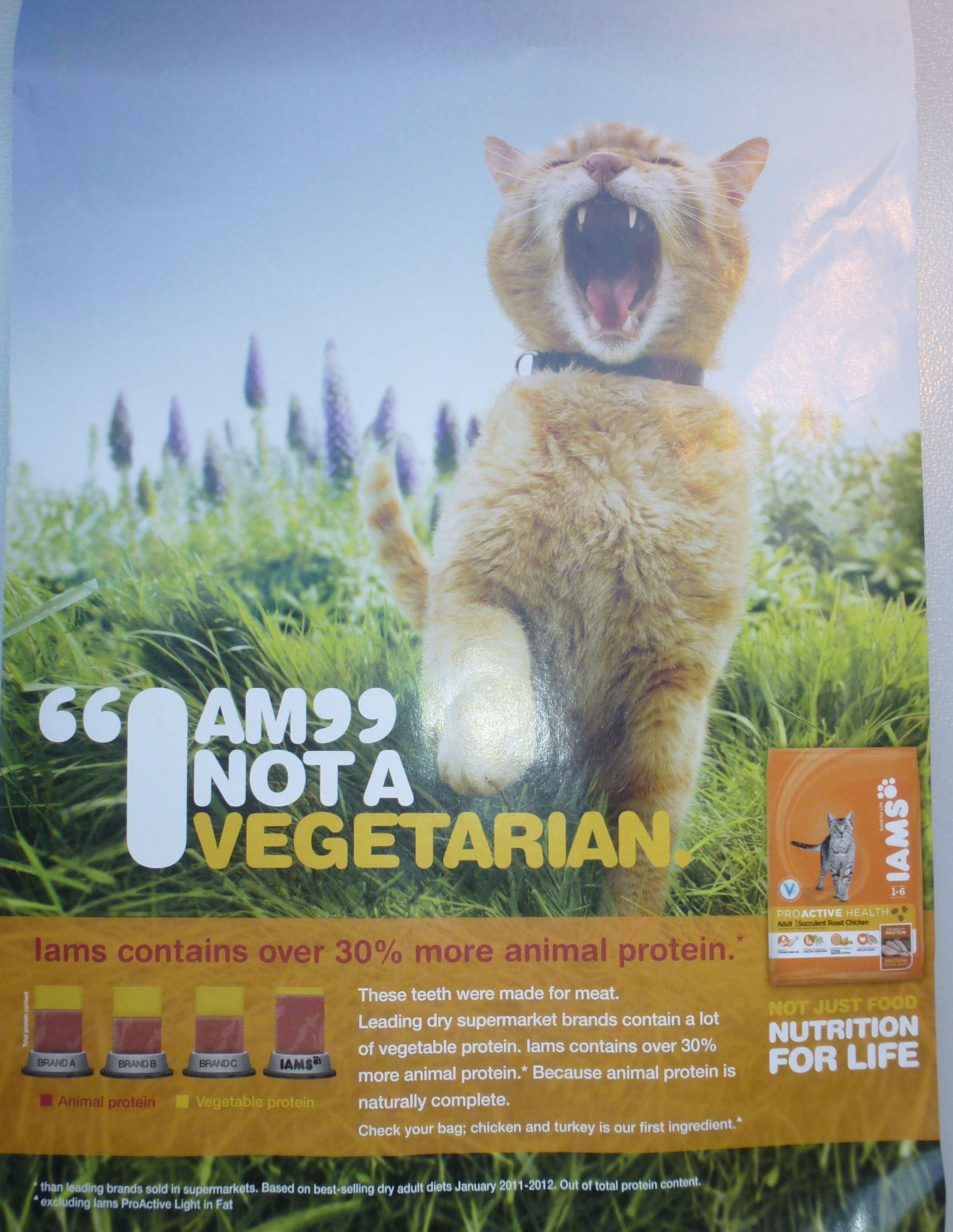 'I am not a vegetarian'. Comparative Brand Statistics
