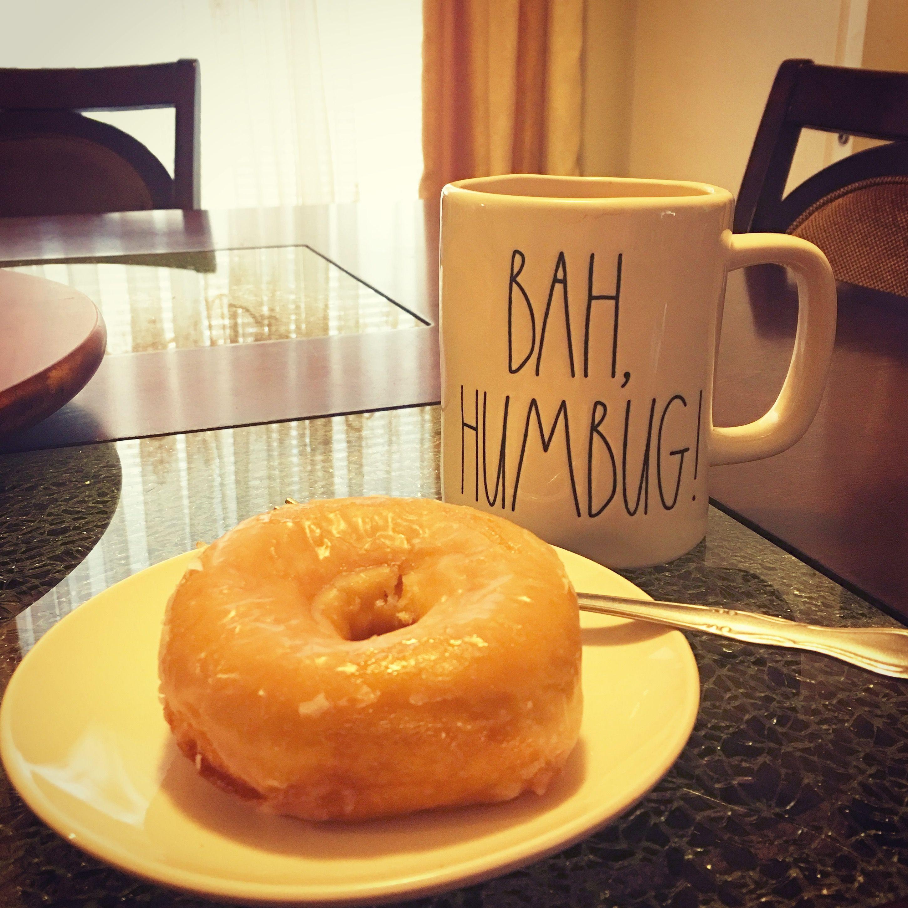 Good morning!  Rae Dunn Humbug mug😃☕️