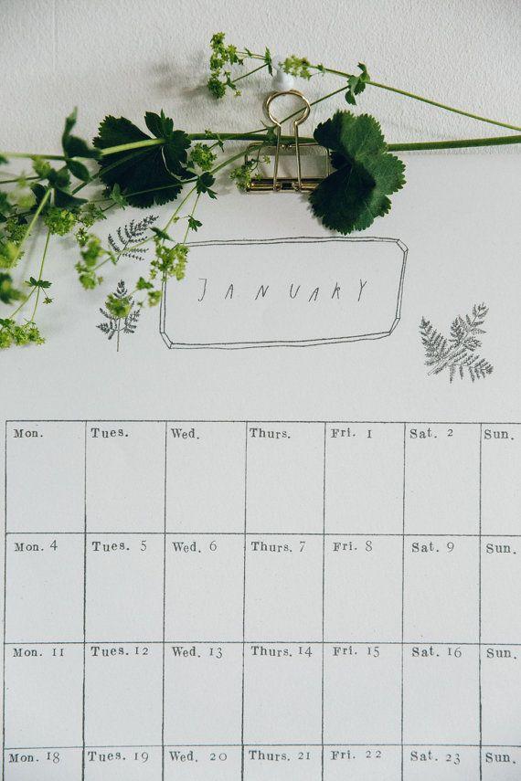 2019 monthly wall calendar journal planner organizations