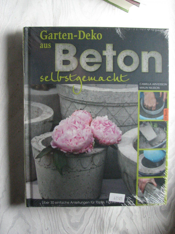 1 Neue Garten Deko Aus Beton Selbstgemacht 2 Gartentraume Gestalten Dekorieren Werken Bas Book Cover Art
