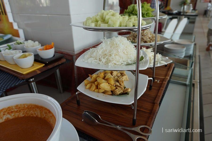 menu al bazaar hotel harris surabaya