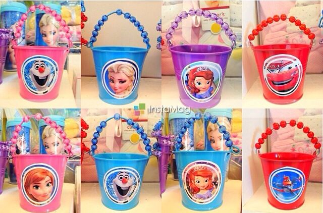 Cute Favor Buckets Using 1 Pails From Target With Images