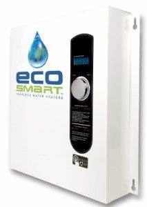 Ecosmart Eco 27 Electric Tankless Water Heater Vs Rinnai Rl75in Natural Gas Tankless Water Heater Tan Tankless Water Heater Water Heater Electric Water Heater
