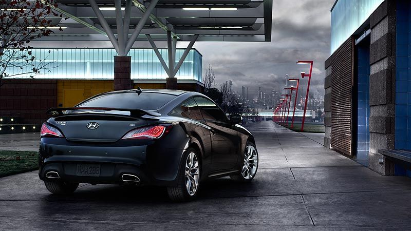 2015 GENESIS COUPE ULTIMATE IN CASPIAN BLACK Visit httpwww
