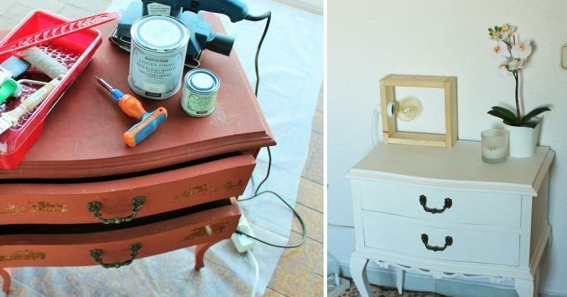 ¡Tú también puedes restaurar un mueble!