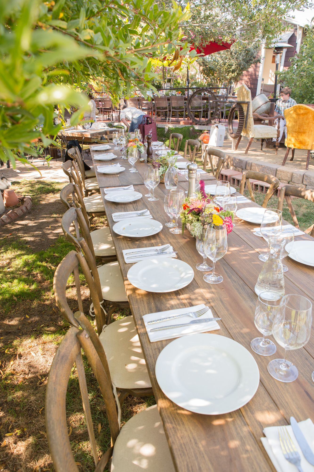 Farm To Table Dinner Weber Ranch In Petaluma Backyard