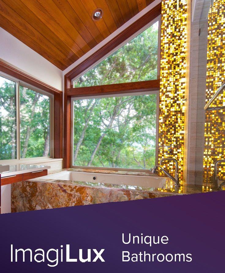 Our custom LED panel lighting solutions transform ordinary bathroom ...