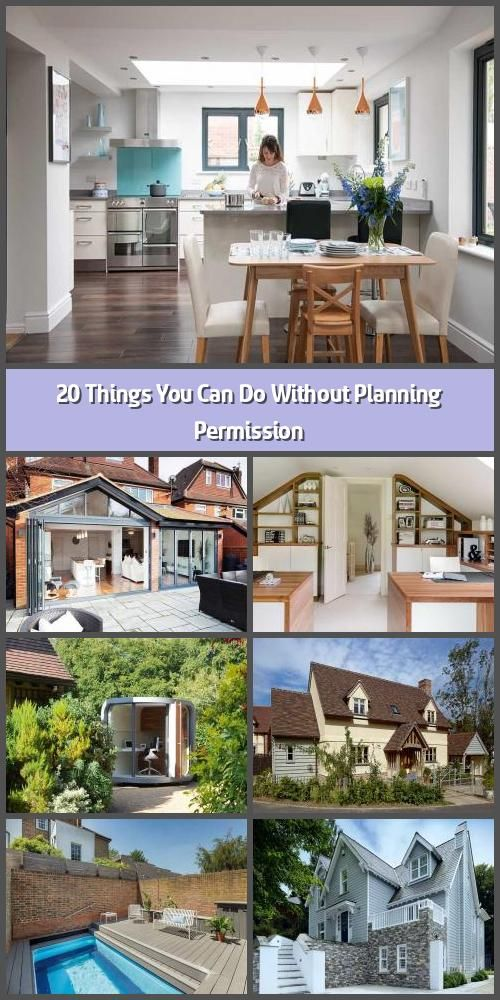 20 Things You Can Do Without Planning Permission There Are Many Home Improvements You Can Make To In 2020 Planning Permission Agricultural Buildings Building A House