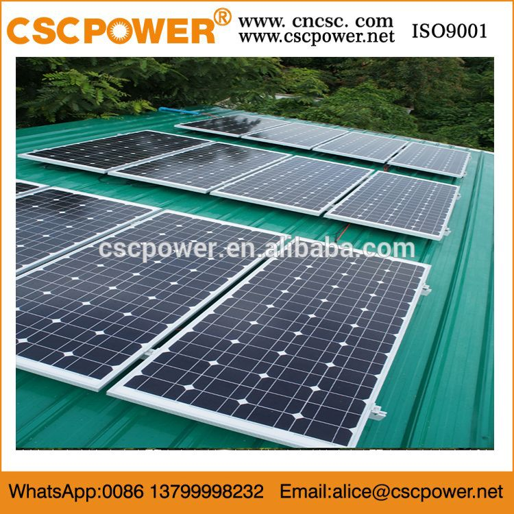 Cscpower 10kw Solar Panels Home Power Generator System Cheap Solar Panels Solar Roof Solar Panel