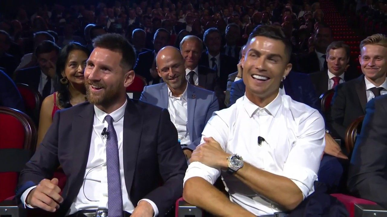 """""""I want to have dinner with Messi!"""" Cristiano Ronaldo"""