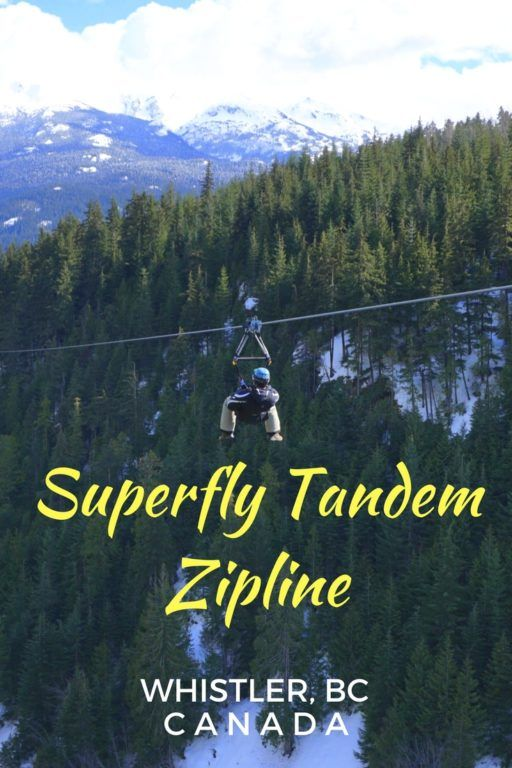 Zip Lining In May In Banff